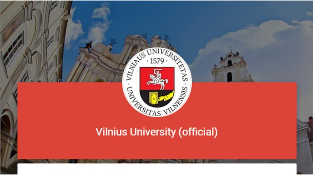 Конкурс за пријаву за програм мобилности на Vilnius University , (Lithuania)