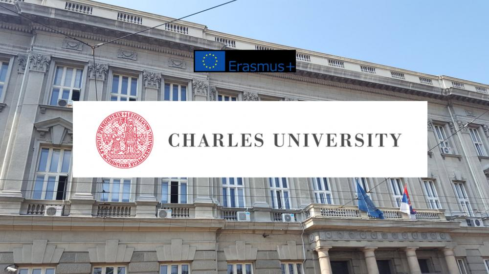 Konkurs za prijavu za program mobilnosti Incoming student na Charles University in Prague , (Czech Republic)